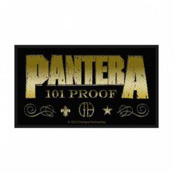 PANTERA WHISKEY LABEL...