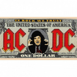 AC/DC BANK NOTE PTCH